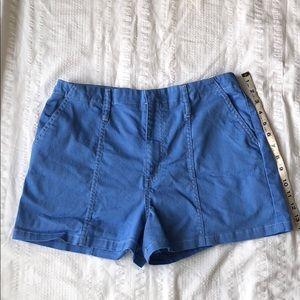 GB Gianni Bini Blue High Waist Shorts 13